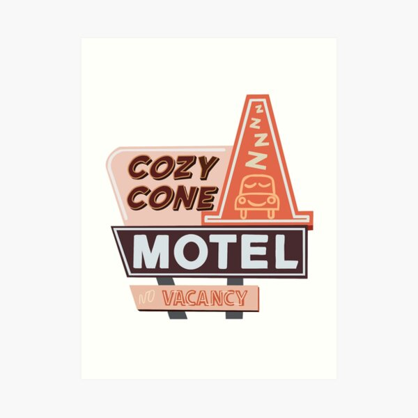 Cozy Cone Motel Lámina artística