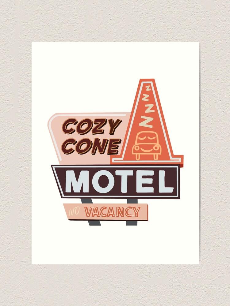 Alternate view of Cozy Cone Motel Art Print