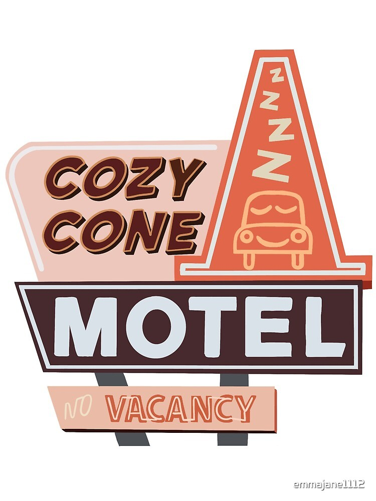 Cozy Cone Motel by emmajane1112