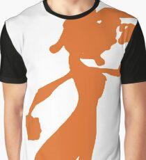 Daxter Silhouette - Orange Graphic T-Shirt