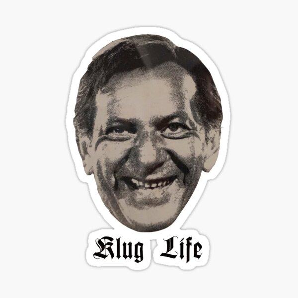 Klug Life - Jack Klugman  Sticker