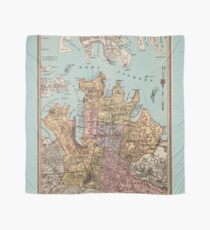 City of Sydney map Scarf