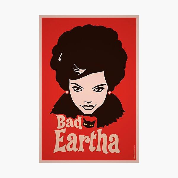 Eartha Kitt - That Bad Eartha Retro Poster Photographic Print