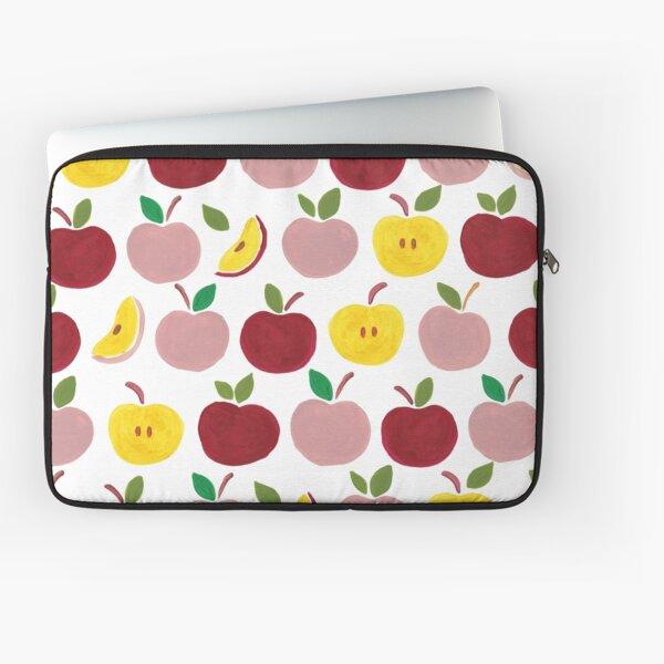 Apples Gouache Illustration Laptop Sleeve