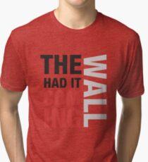 Sherlock quote typography Tri-blend T-Shirt