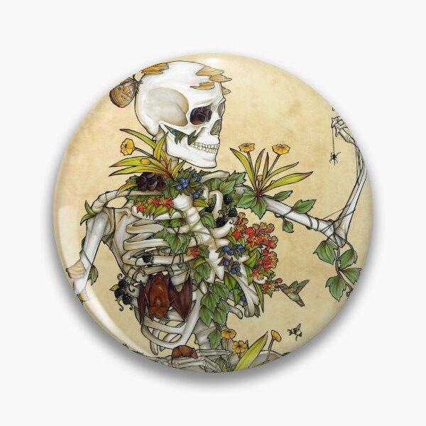 Bones and Botany Pin