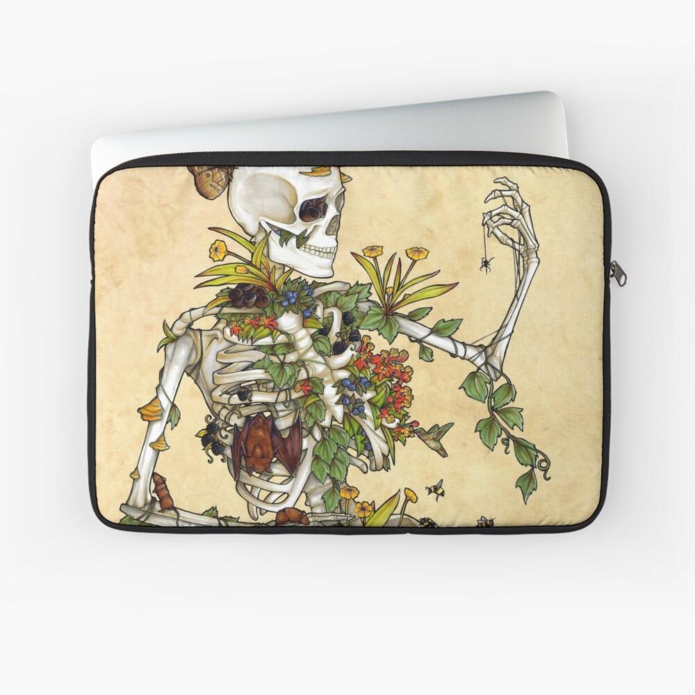 Bones and Botany Laptop Sleeve