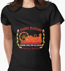 Pacific Playland- Zombie Free Women's Fitted T-Shirt