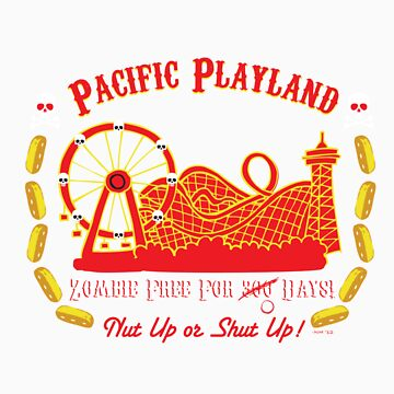Pacific Playland- Zombie Free by Staberella