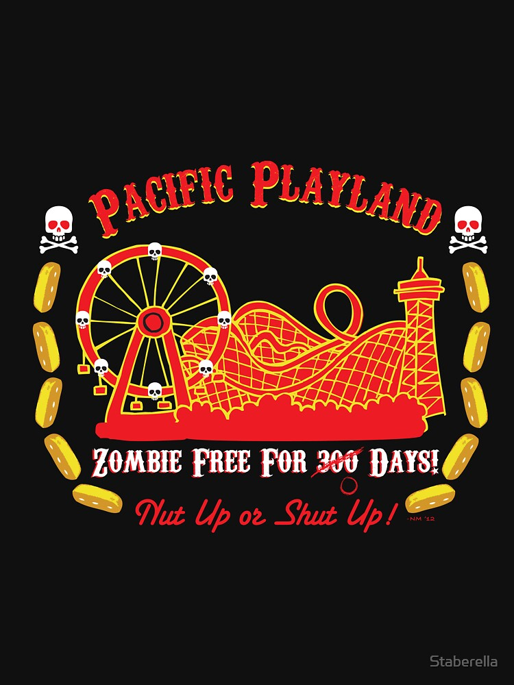 Pacific Playland- Zombie Free | Unisex T-Shirt
