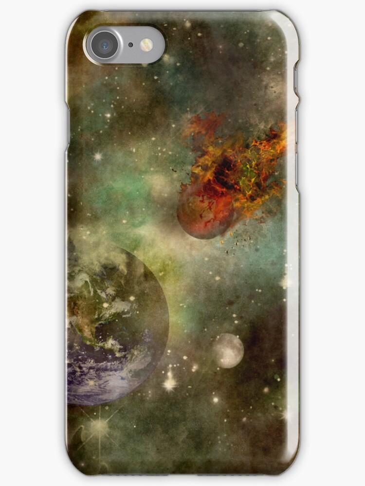 The Fireball iphone Case by Vanessa Barklay