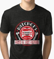 Ratchet's Auto & Bot Repair Tri-blend T-Shirt