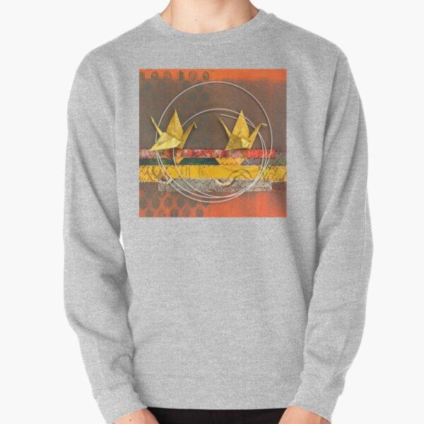 Long Flag Home Pullover Sweatshirt