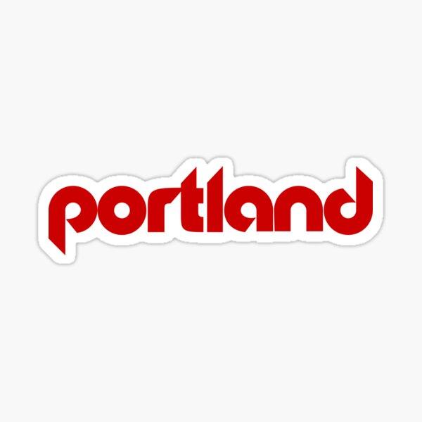 Portland Basketball Sticker