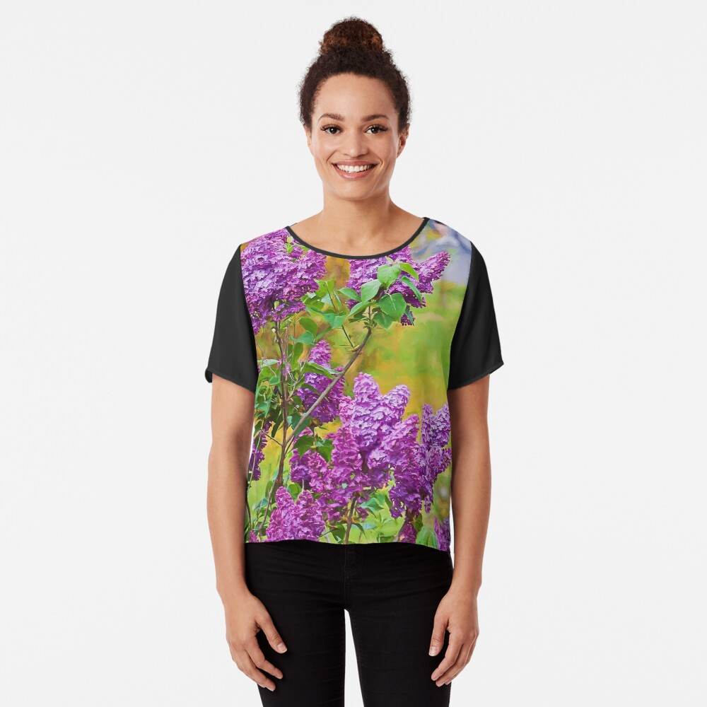 Spring is in the air Chiffon Top