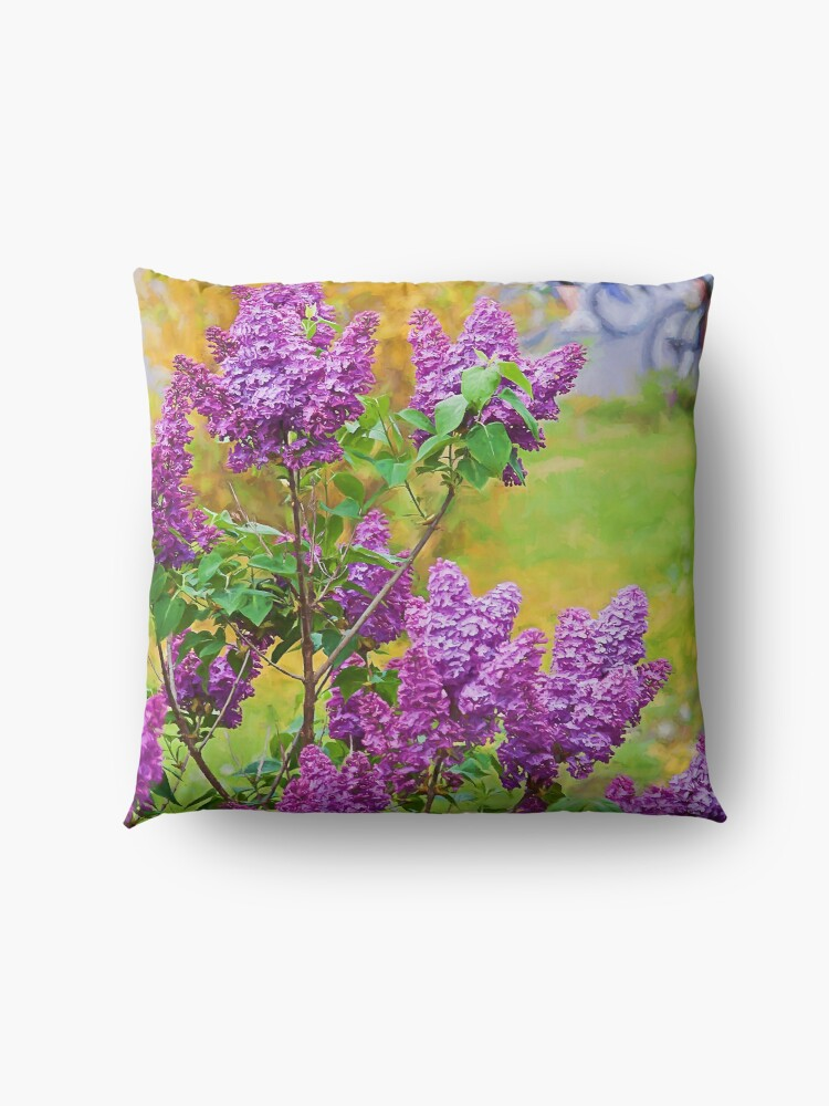 Alternate view of Spring is in the air Floor Pillow