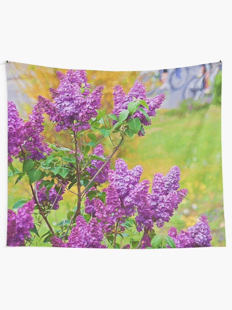 Alternate view of Spring is in the air Tapestry