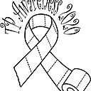 Toilet Paper Awareness Ribbon Sticker By Ageremia Redbubble