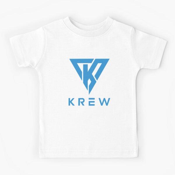 Krew Logo Blue Kids T-Shirt