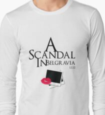 A Scandal In Belgravia Long Sleeve T-Shirt