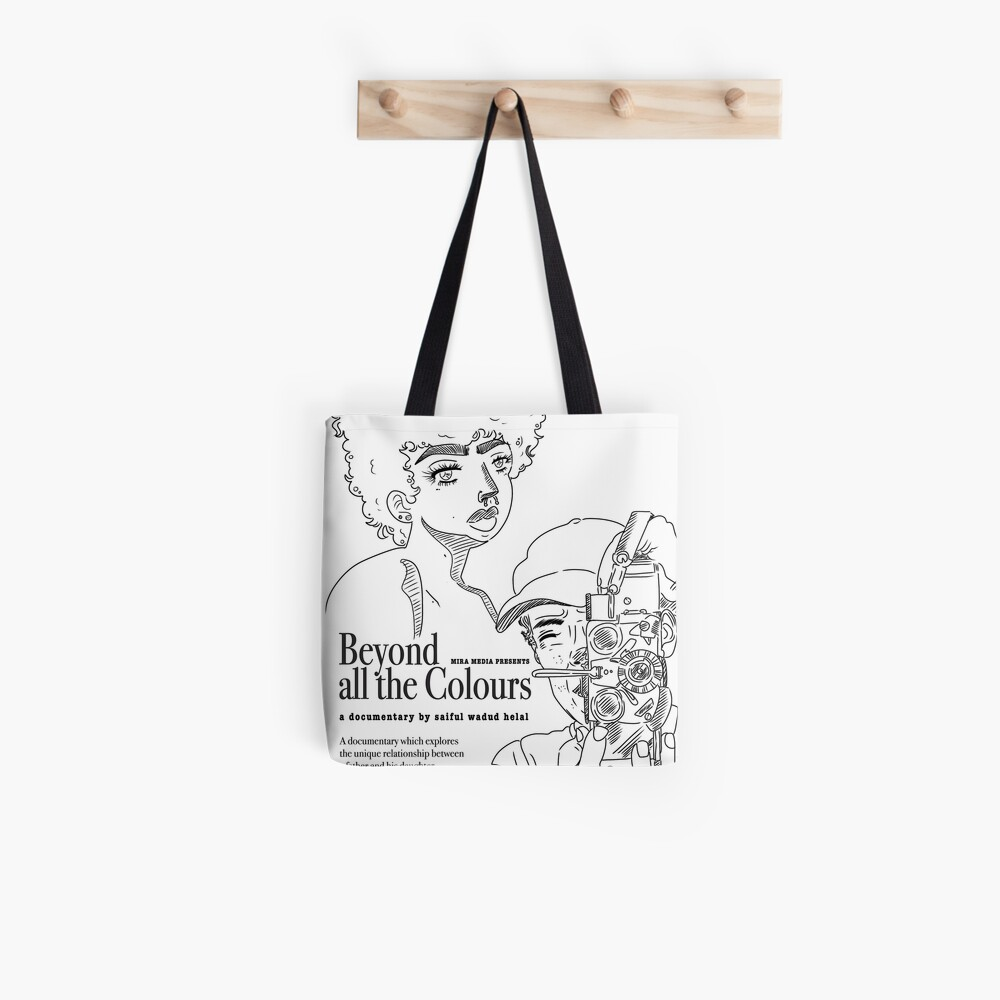 Beyond All The Colours Tote Bag