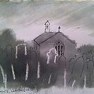 'Church of St Celynnin, Llwngwril, Gwynedd' by Martin Williamson (©cobbybrook)