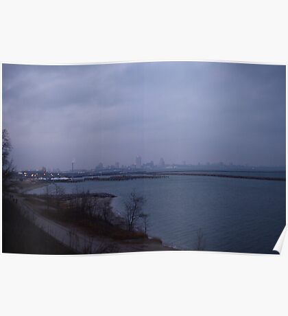 Milwaukee Skyline  Poster