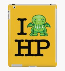 I Love HP Lovecraft - Cthulhu iPad Case/Skin