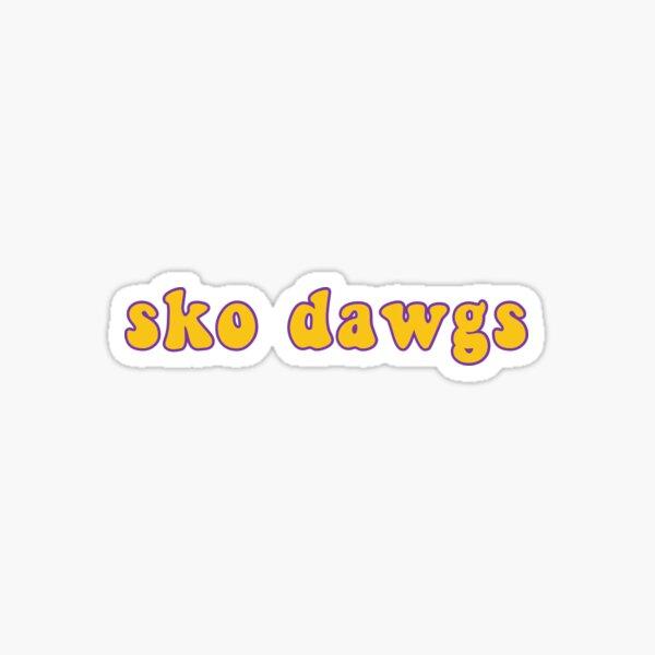 Sko Dawgs Sticker