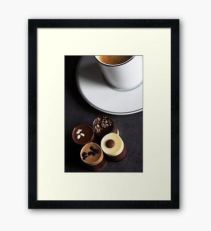 Chocolates & Espresso Study Framed Print