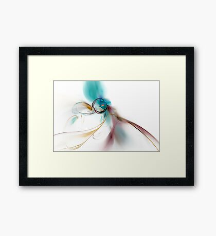 The Way of Life Framed Print