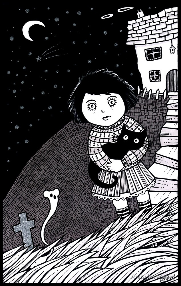 The Midnight Mouse Memorial by Anita Inverarity