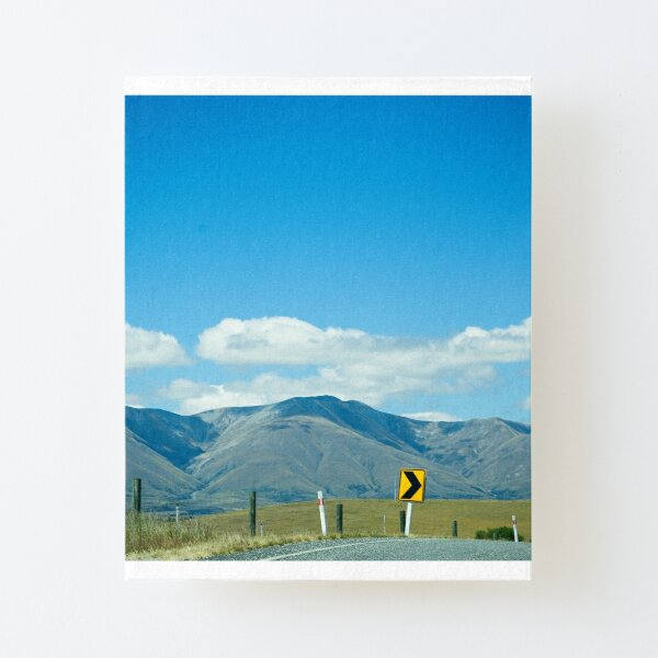 Stay at home Canvas Mounted Print