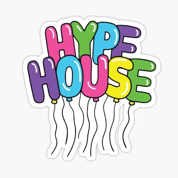 The Hype House Balloons Pegatina