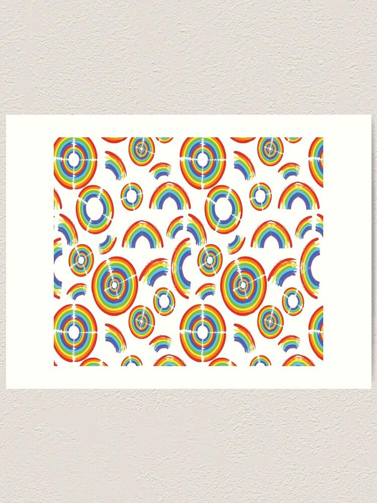 Alternate view of Rainbow Trail Art Print
