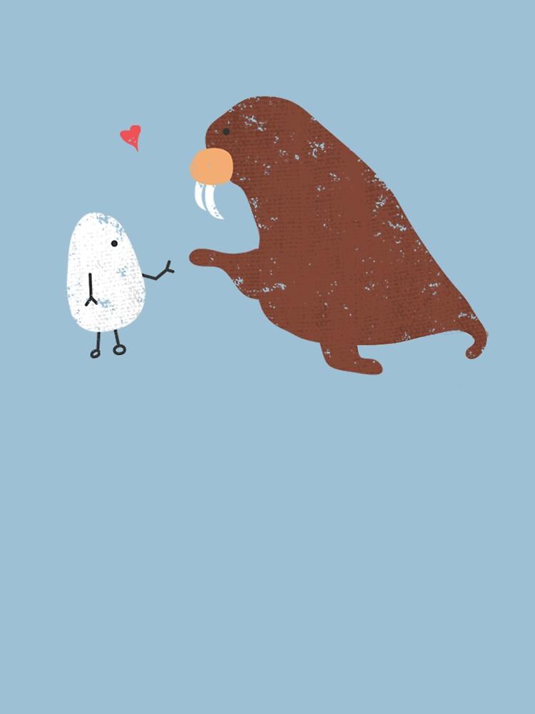 TShirtGifter presents: I am the walrus | Unisex T-Shirt