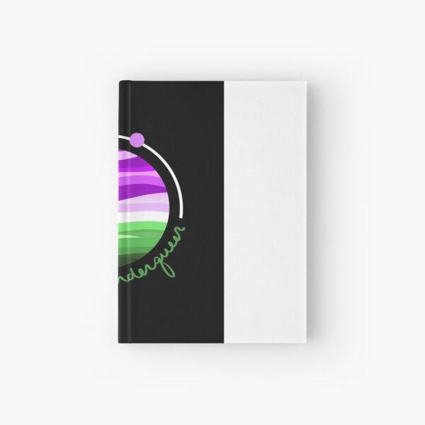 Space Genderqueer  Hardcover Journal
