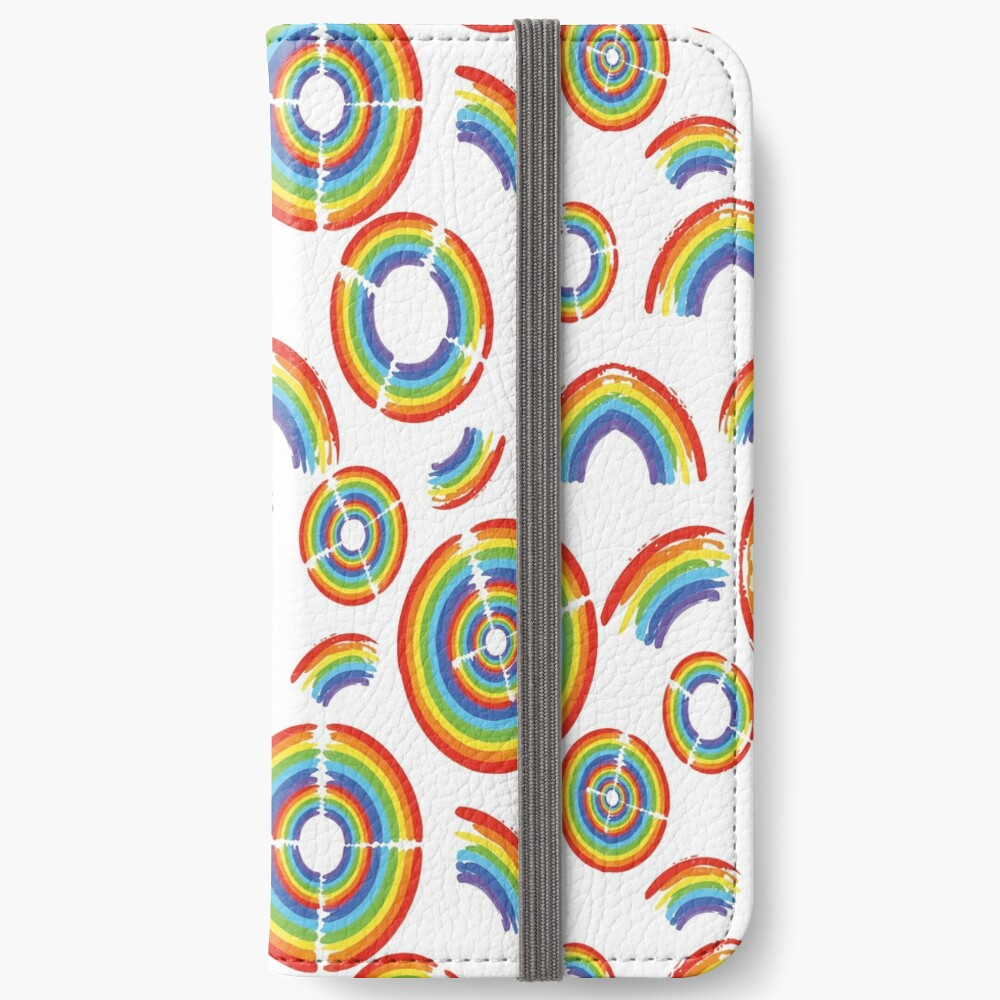 Rainbow Trail iPhone Wallet