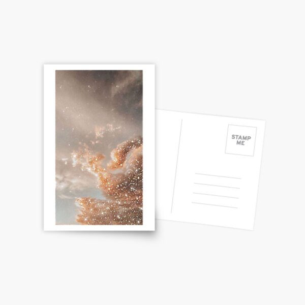Glitter Sky Postcard