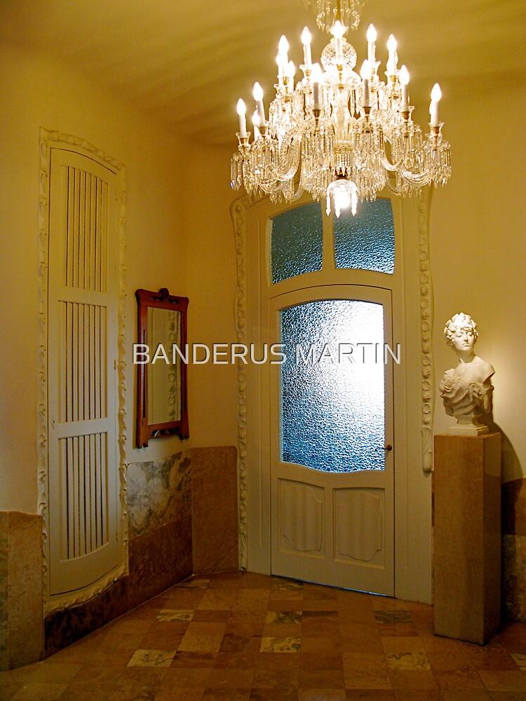 Hall of La Pedrera by BANDERUS MARTIN