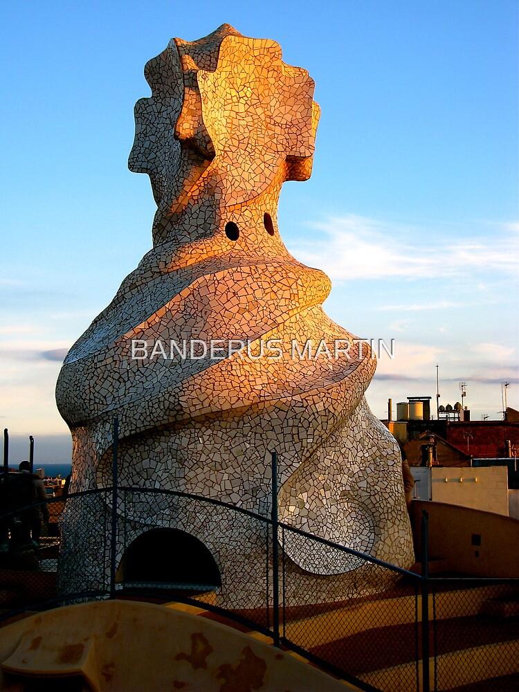 Tower of La Pedrera by BANDERUS MARTIN