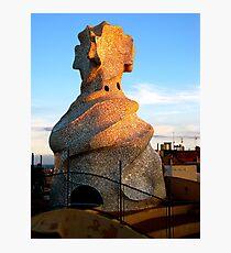 Tower of La Pedrera Photographic Print