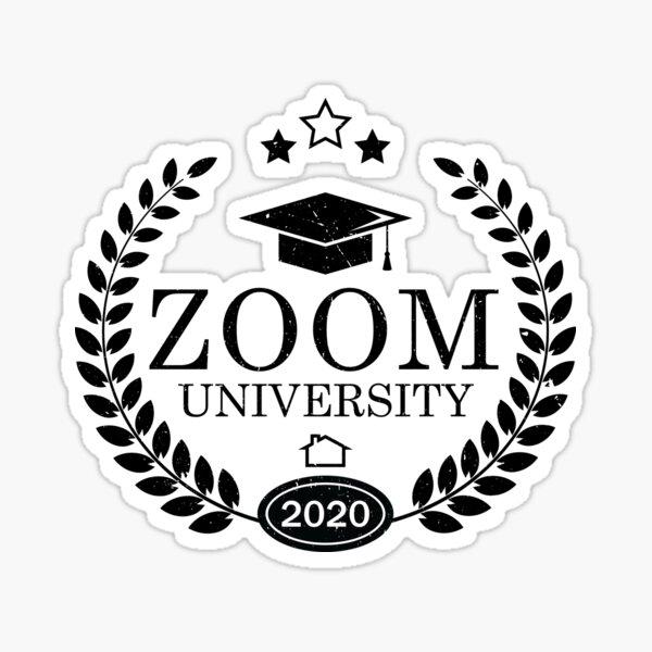 ZOOM University Quarantine Sticker