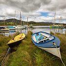 Wooden Boat Centre, Franklin, Tasmania #15 by Chris Cobern