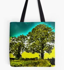 HDR Trees Tote Bag