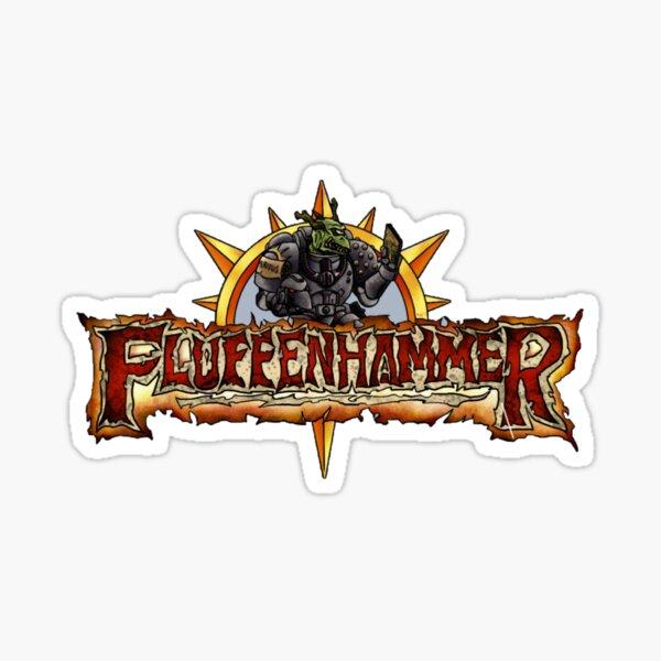 Fluffenhammer Logo Sticker