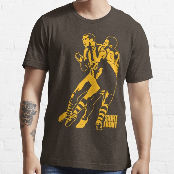Bud v Cuz: Gold on Brown Essential T-Shirt