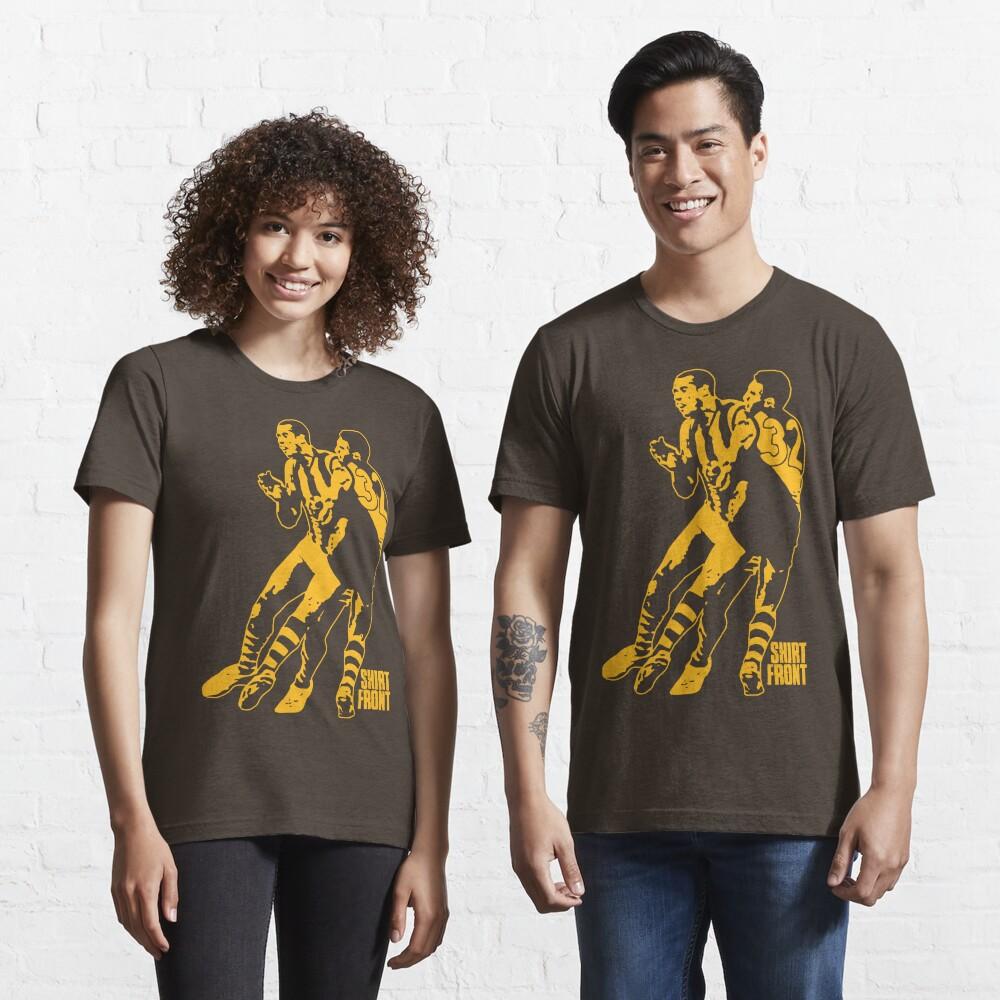 Bud v Cuz: Gold on Brown Essential T-Shirt