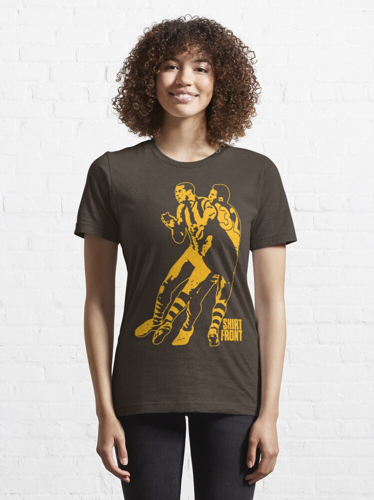 Alternate view of Bud v Cuz: Gold on Brown Essential T-Shirt