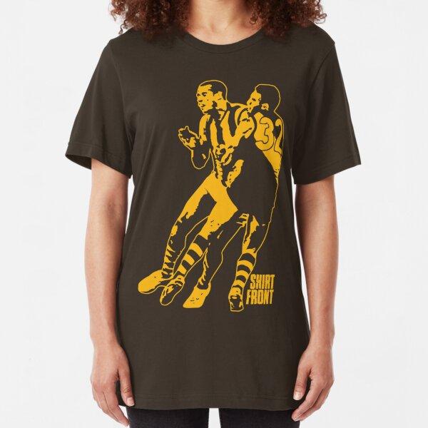 Bud v Cuz: Gold on Brown Slim Fit T-Shirt